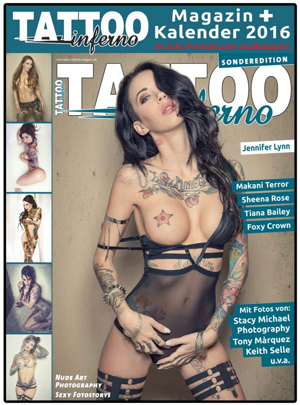 tattoo inferno se 2015 kalender jennifer lynn